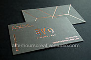 Gold Foil Business Cards | Silk Cards 450gsm