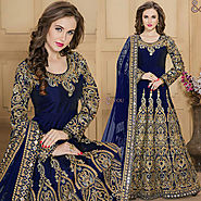 Extra Ordinary And Colorful Anarkali Salwar Kameez To Be Like Prominent