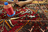 Oriental Fringe Repair Services at The Rug Shopping
