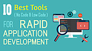 10 No-Code & Low-Code Tools For Rapid Application Development