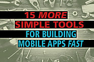 15 low-code tools for building mobile apps fast