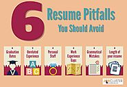 6 common resume pitfalls that you should never put on your resume