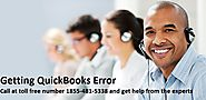 Getting QuickBooks Error and Issues