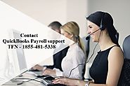 QuickBooks Payroll Support Phone Number 1855-481-5338