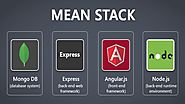 What are the advantages of developing with the MEAN stack?
