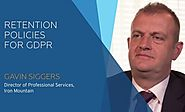 Compliance Culture: Insights from the Experts - Retention Policies for GDPR