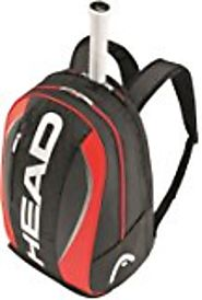 Head Rebel Bkor - Mochila de tenis, color gris / naranja / azul