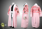 Bleach 8th Division Captain Shunsui Kyoraku Cosplay Costume