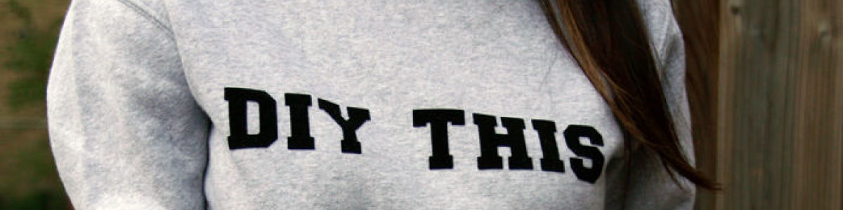 Headline for The Shirt Speaks: 10 DIY Shirts with Words