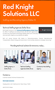 Staffing and Recruiting Agency Dallas TX