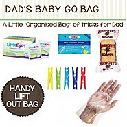 Designer Hospital Bags for Dads