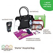 Elaborate List of Maternity Bag Items