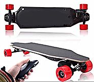 Electric Skateboard Longboard By Falcon Board - Powerful 1200W Brushless Motor - 8AH Lithium Battery - Bluetooth Remo...