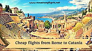 Website at http://www.romecheapflights.net/cheap-flights-rome-catania/