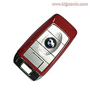 Red Refit key shell 3 button for BMW