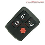 Remote Fob 4 button 434Mhz for Ford BA-BF Falcon Territory wagon
