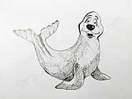 How to Draw A Seal: In A Few Easy Steps with Pictures