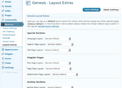 "WordPress › Genesis Layout Extras "" WordPress Plugins"