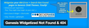 "WordPress › Genesis Widgetized Not Found & 404 "" WordPress Plugins"
