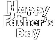 Happy Fathers Day Coloring Pages 2017 - Cute Father's Day Coloring Pages & Sheets