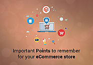 Most Important Points to remember for your eCommerce store