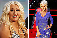 Christina Aguilera Weight Loss - Celebrity Transformations