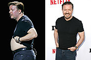 Ricky Gervais Weight Loss - Celebrity Transformations