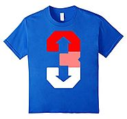 3 Up 3 Down Baseball T-Shirt