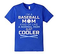 Cool Baseball Mom T-Shirt