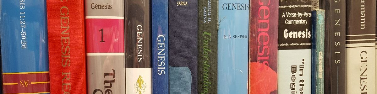 Headline for Best Bible Commentaries on Genesis