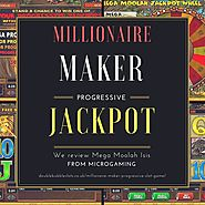 We review the Millionaire-maker progressive slot game!