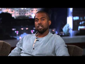 Kanye West Visits Jimmy Kimmel, Love And Awkwardness Ensue