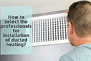 Choose a ducted heating specialist in Pakenham