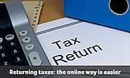 Tax Return Preparation Services: The Online Way is Easier