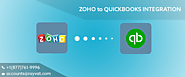Process on Zoho to Quickbooks Integration services | MAC