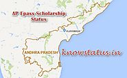 Check Andhra Pradesh Epass Scholarship Status at knowstatus