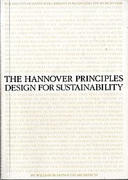 The Hannover Principles: Design for Sustainability (1992) | William McDonough