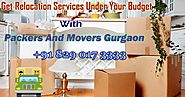 5 Significant Things Should Do Prior And Then Afterward Household Shifting In Gurgaon