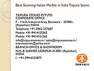 Italian Marble in India Beautiful Stones for Wall and Flooring