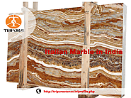Italian Marble in India Tiger Onyx Marble Tripura Stones