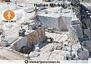 Italian Marble in India Tripura Stones Supplier of Carrara Marble in India