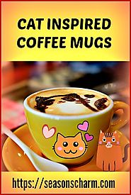 20+ Coffee Mug Gifts For Cat Lovers • Seasons Charm