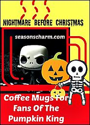40+ Nightmare Before Christmas Coffee Mugs - Unique And Cool • Seasons Charm