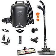 Atrix VACBP1 Hepa Backpack Vacuum – Corded