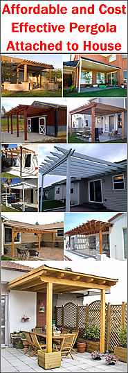 Affordable and Cost Effective Pergola Attached to House | Pergola Gazebos