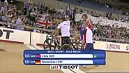 Chris Hoy Wins Mens Sprint - London World Cup 2012