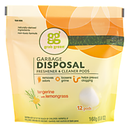 Garbage Disposal Freshener & Cleaner - Tangerine with Lemongrass