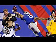 Odell Beckham makes catch of the year!