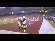 SuperBowl 2009-Santonio Holmes Game Winning Catch (HD / HQ)