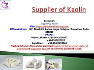 Supplier of Kaolin_best_price